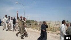 معتقلون يطلق سراحهم في بغداد