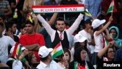 Жители Курдской автономии приветствуют проведение референдума о независимости
