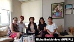 Общество кыргызских женщин.
