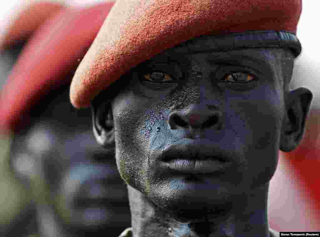 A Sudan People's Liberation Army soldier, July 2011. Tomasevic is currently chief photographer for Reuters' East Africa bureau.