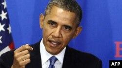 АҚШ президенті Барак Обама. Вашингтон, 18 қыркүйек 2013 жыл. (Көрнекі сурет)