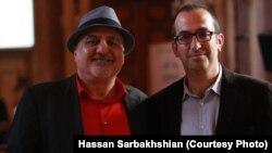 یشایی سارید از اسرائیل (راست)، و ساموئل شیمون از عراق دو میهمان جشنواره امسال پراگ بودند.
