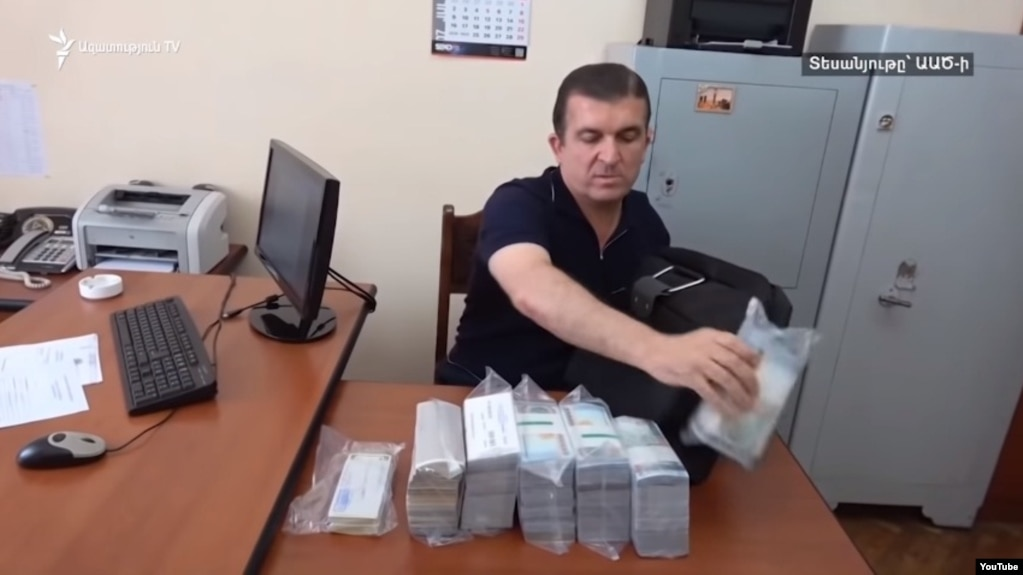 Бывшему начальнику охраны Сержа Саргсяна предъявлено обвинение