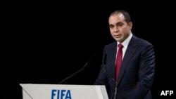 علی بن حسین، نامزد اردنی رقیب سپ بلاتر