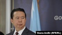 Президент Интерпола Мэн Хунвэй.