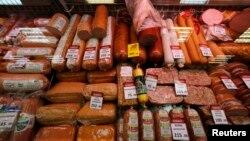Рост цен на продукты питания в России с ноября прошлого года в среднем превысил 12%