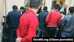 Сообщается, что «черные валютчики» работали в этом частном доме в Ташкенте.
