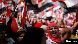 Акция противников Мохаммеда Мурси