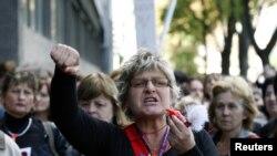 Ilustrativna fotografija, protest tekstilnih radnica u Zagrebu