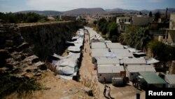 Лагерь для беженцев в районе Киоса, Греция. Иллюстративное фото.