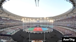 Azerbaijan -- opening of the First European Games in Baku - 12Jun2015