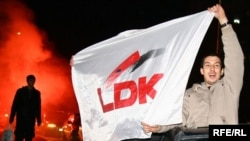 Simpatizues të LDK-së (Foto nga arkivi)