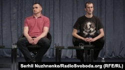 Oleh Sentsov Speaks To The Press