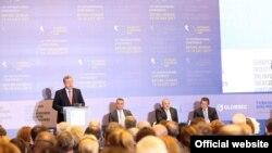 Первые дица страны затронули в своих выступлениях тему «ползучей оккупации» грузинских территорий