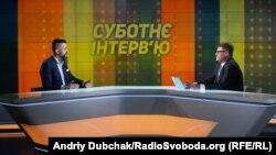 Максим Нефьодов у програмі «Суботнє інтерв'ю»