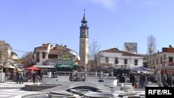 Macedonia - City center, Prilep, 8Mar2009