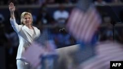 Kandidatja e demokratëve për zgjedhjet presidenciale, Hillary Clinton