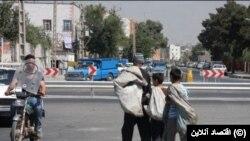 İranda işləyən uşaqlar