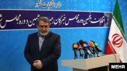 وزیر کشور ایران می گوید که پنج هزار و ۵۰۰ نفر به ردصلاحیت خود اعتراض کرده اند.