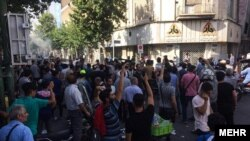 Tehran Bazar protests – Iran