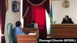 Судебный процесс по делу о пожаре в автобусе. Актобе, 3 сентября 2018 года.