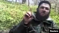 Did Chechen rebel leader Doku Umarov warn of the attacks in this video?