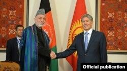 Президенты Афганистана и Кыргызстана