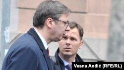 Aktuelni gradonačelnik Beograda Siniša Mali i predsednik Srbije Aleksandar Vučić