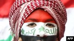 مشجع رياضي عراقي