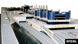 Bakı Beynəlxalq Avtovağzal Kompleksinin maketi