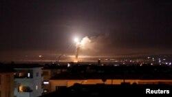 حمله موشکی و هوایی اسرائیل به «مواضع ایران» در سوریه