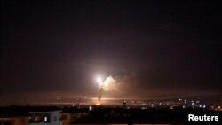 Dim iznad Damaska, Sirija