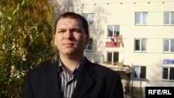 Newspaper editor Damir Shaykhetdinov