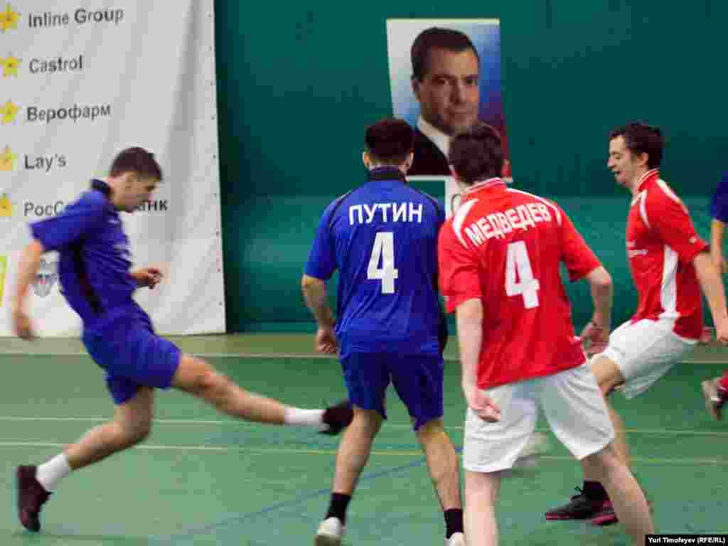 """""""Medvedev"""" əvvəl uduzsa da son anda hesabı bərabərləşdirib."""