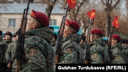 Военнослужащие Кыргызстана. Иллюстративное фото.