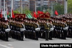 Парад Победы в Минске. Беларусь, 9 мая 2020 года.