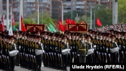 Гузашти низомӣ дар Белорусия. 9 майи соли 2020
