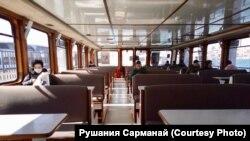 Бушап калган су транспорты