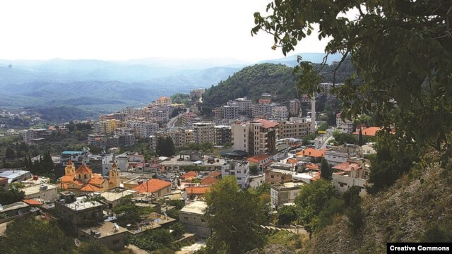 Syria -- General view of Kessab, an Armenian-populated town in northwestern Syria.
