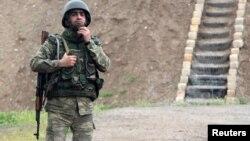 Солдат ВС Азербайджана