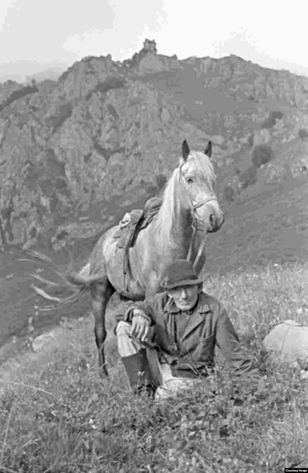 Пастух. Гора Чермой.