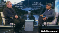 Valeri Gergiev răspunzînd întrebărilor CNN
