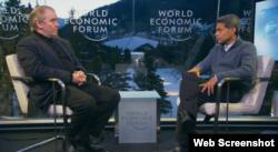 Valeri Gergiev intervievat de CNN la Davos