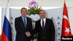 لاوروف و چاوشاغلو در آنتالیا دیدار کردهاند