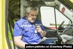 Врач скорой помощи Артур Гайдук
