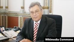 Президент Национальной академии наук Азербайджана Махмуд Керимов. Баку, 2008