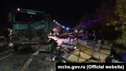 У ДТП загинули 11 осіб