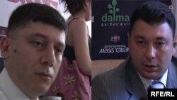 Овсеп Хуршудян («Наследие») (слева) и Эдуард Шармазанов (РПА) (справа)
