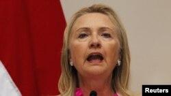 Sekretarja amerikane e Shtetit, Hillari Klinton