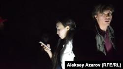 Сцена из спектакля «Комьюнити» о нарушениях прав ЛГБТ-сообщества в Казахстане. Алматы, 16 сентября 2016 года.